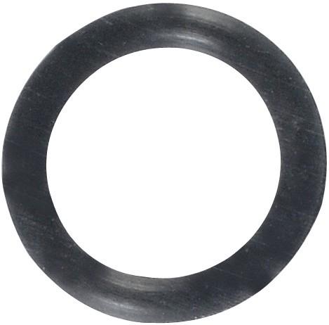10 stk. O-Ring for F-conn konnektor til Wall-plate system, sort
