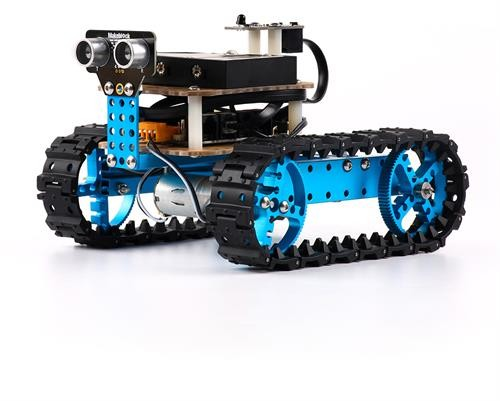 KIT-BLUE Starter Robot Kit - Lærerikt robot sett for barn!
