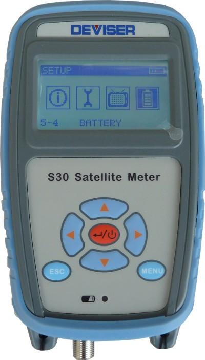 Deviser S30 Satelitte Meter