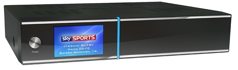 GigaBlue UHD Quad 4K med 2 x DVB-S2 FBC Tuner