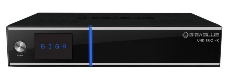 GigaBlue UHD TRIO 4K E2 mottaker
