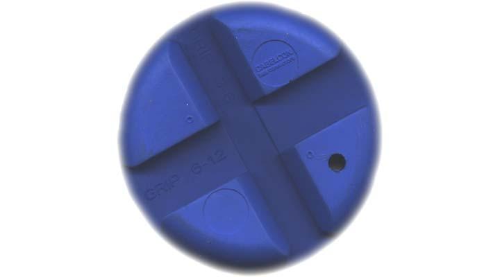 Gummigrep for kabelmontering