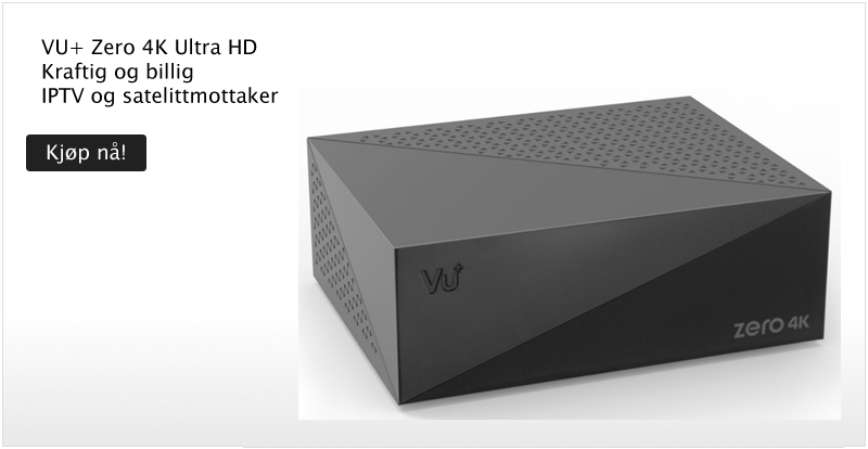 VU+ Zero 4K - Klikk for å handle