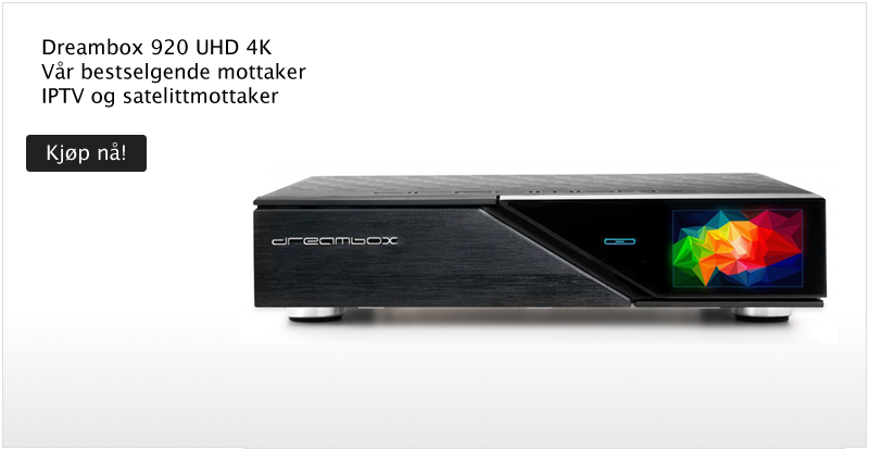 Dreambox DM920 UHD - Klikk for å handle